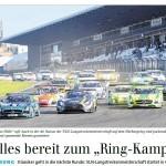 """Alles bereit zum """"Ring-Kampf"""""""