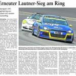 Erneuter Lautner-Sieg am Ring