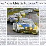 Starkes Saisondebut für Etzbacher Meisterteam