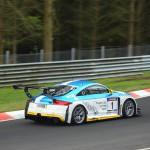 Audi TTRS 2 vom VLN Meister 2012 LMS Engineering gewinnt auch das zweite
