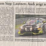 Abschied mit einem Sieg: Lautners Audi zeigt noch einmal Stärke