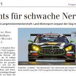 12.04.2017 Den Albtraum eines jeden Teamchefs erlebte derweil Andreas Lautner.